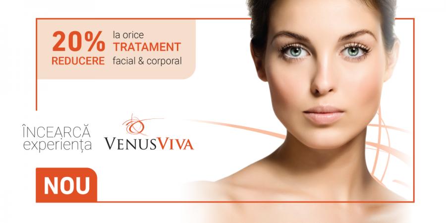 Venus Viva, primul aparat din lume care reface pielea cu probleme severe, acum la Beauty Code