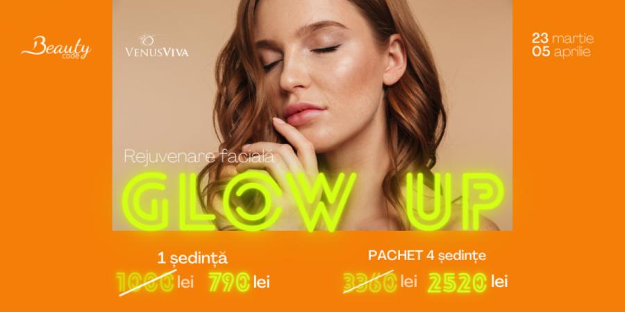 Glow Up cu Venus Viva! Descoperă oferta noastră la tratamentul de rejuvenare facială