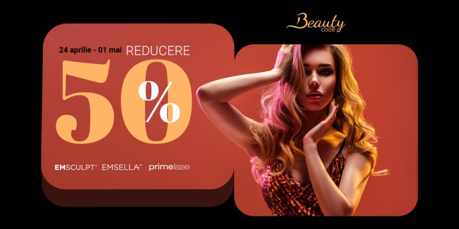 Redescoperă-ți feminitatea:  îți oferim 50% reducere la trei superproceduri de frumusețe & sănătate