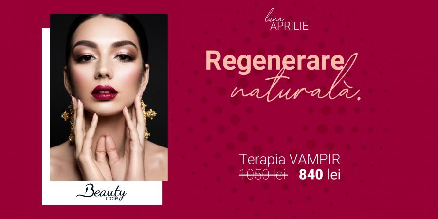 """Regenerare naturală prin """"terapia vampir"""". Profită de oferta lunii aprilie!"""